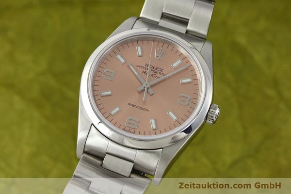 montre de luxe d occasion Rolex Air King acier automatique Kal. 3130 Ref. 14000M  | 141903 04