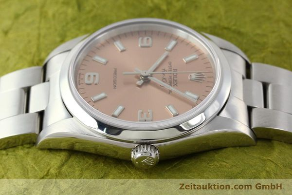 montre de luxe d occasion Rolex Air King acier automatique Kal. 3130 Ref. 14000M  | 141903 05