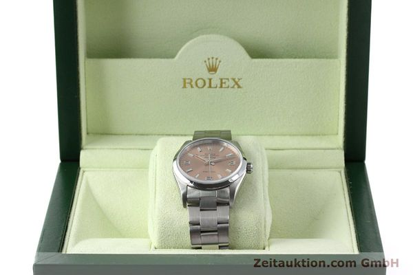 montre de luxe d occasion Rolex Air King acier automatique Kal. 3130 Ref. 14000M  | 141903 07