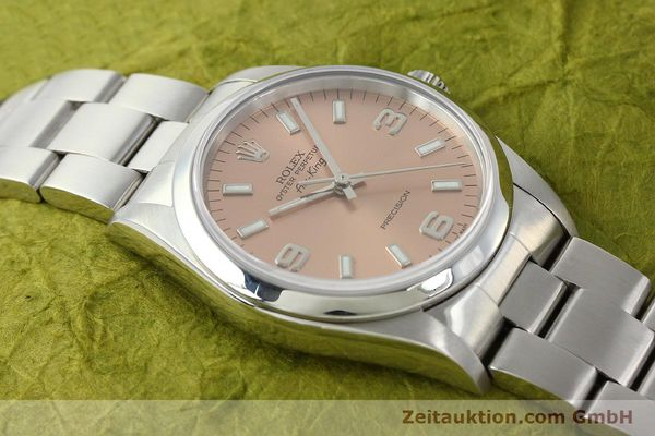 montre de luxe d occasion Rolex Air King acier automatique Kal. 3130 Ref. 14000M  | 141903 17