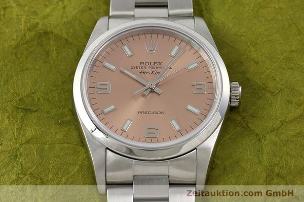 montre de luxe d occasion Rolex Air King acier automatique Kal. 3130 Ref. 14000M  | 141903 18