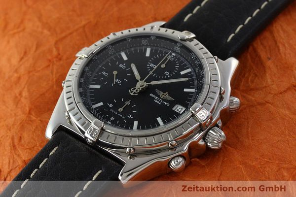 Used luxury watch Breitling Chronomat chronograph steel automatic Kal. B13 ETA 7750 Ref. B13050.1  | 141907 01