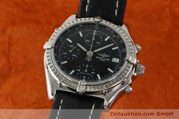 Used luxury watch Breitling Chronomat chronograph steel automatic Kal. B13 ETA 7750 Ref. B13050.1  | 141907 04