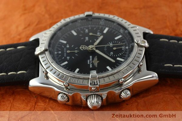Used luxury watch Breitling Chronomat chronograph steel automatic Kal. B13 ETA 7750 Ref. B13050.1  | 141907 05