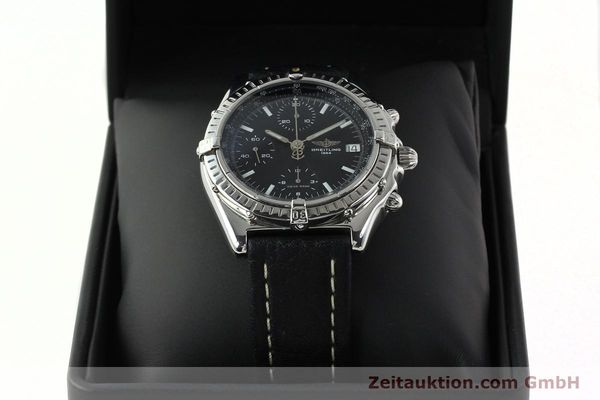 Used luxury watch Breitling Chronomat chronograph steel automatic Kal. B13 ETA 7750 Ref. B13050.1  | 141907 07
