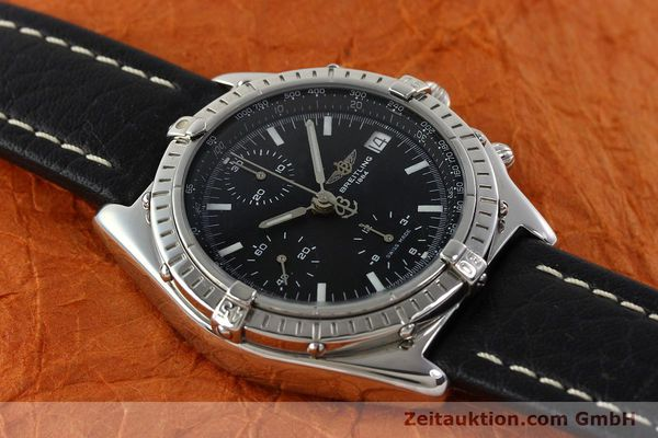 Used luxury watch Breitling Chronomat chronograph steel automatic Kal. B13 ETA 7750 Ref. B13050.1  | 141907 13