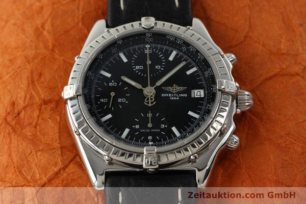Used luxury watch Breitling Chronomat chronograph steel automatic Kal. B13 ETA 7750 Ref. B13050.1  | 141907 14