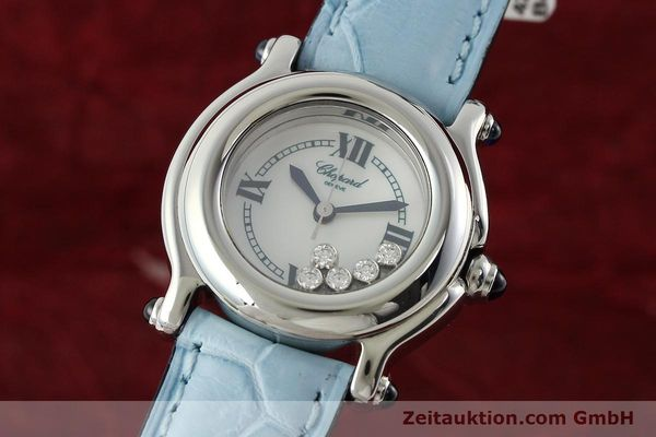 Used luxury watch Chopard Happy Sport steel quartz Kal. ETA 956102 Ref. 8245  | 141914 04