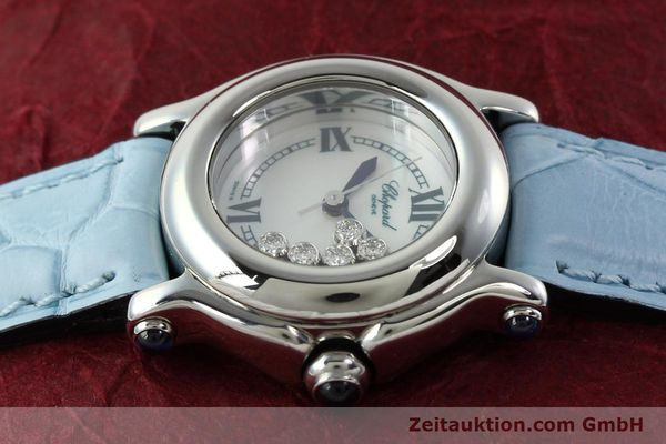 Used luxury watch Chopard Happy Sport steel quartz Kal. ETA 956102 Ref. 8245  | 141914 05