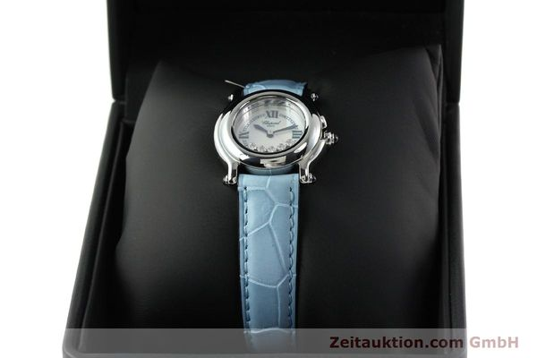 Used luxury watch Chopard Happy Sport steel quartz Kal. ETA 956102 Ref. 8245  | 141914 07