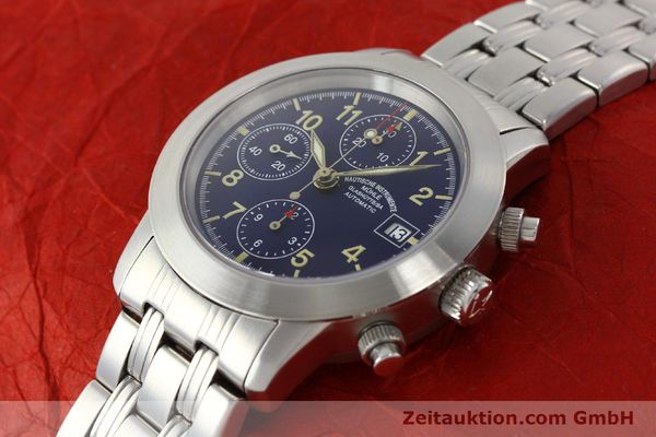 Used luxury watch Mühle Sport Chronograph chronograph steel automatic Kal. ETA 7750 Ref. M1-23-00  | 141915 01