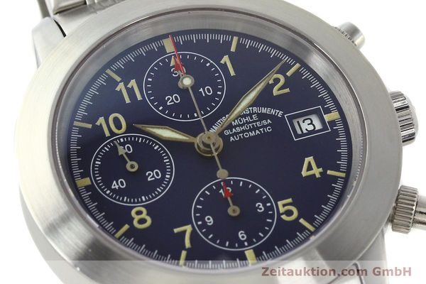 Used luxury watch Mühle Sport Chronograph chronograph steel automatic Kal. ETA 7750 Ref. M1-23-00  | 141915 02