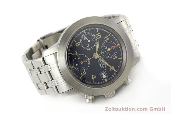 Used luxury watch Mühle Sport Chronograph chronograph steel automatic Kal. ETA 7750 Ref. M1-23-00  | 141915 03