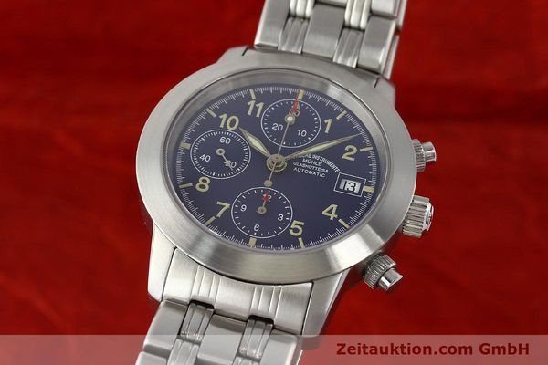 Used luxury watch Mühle Sport Chronograph chronograph steel automatic Kal. ETA 7750 Ref. M1-23-00  | 141915 04