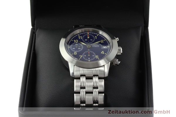 Used luxury watch Mühle Sport Chronograph chronograph steel automatic Kal. ETA 7750 Ref. M1-23-00  | 141915 07