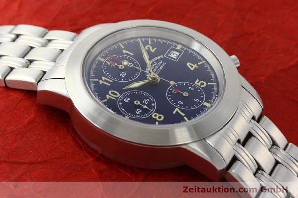 Used luxury watch Mühle Sport Chronograph chronograph steel automatic Kal. ETA 7750 Ref. M1-23-00  | 141915 14