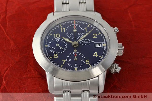 Used luxury watch Mühle Sport Chronograph chronograph steel automatic Kal. ETA 7750 Ref. M1-23-00  | 141915 15