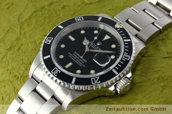 Used luxury watch Rolex Submariner steel automatic Kal. 3135 Ref. 16610  | 141917 01