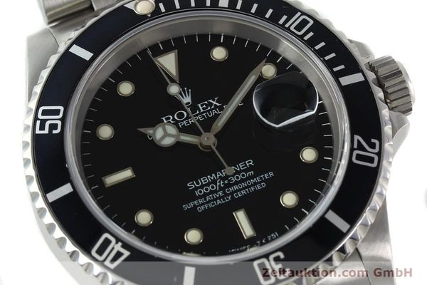 Used luxury watch Rolex Submariner steel automatic Kal. 3135 Ref. 16610  | 141917 02