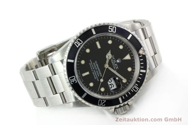 Used luxury watch Rolex Submariner steel automatic Kal. 3135 Ref. 16610  | 141917 03