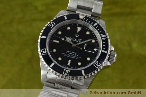 Used luxury watch Rolex Submariner steel automatic Kal. 3135 Ref. 16610  | 141917 04