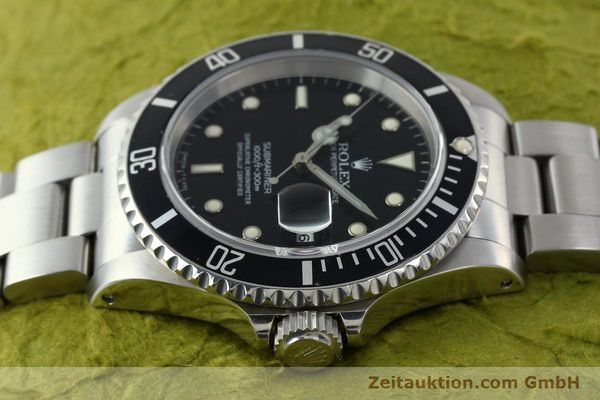 Used luxury watch Rolex Submariner steel automatic Kal. 3135 Ref. 16610  | 141917 05
