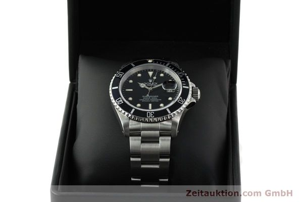 Used luxury watch Rolex Submariner steel automatic Kal. 3135 Ref. 16610  | 141917 07