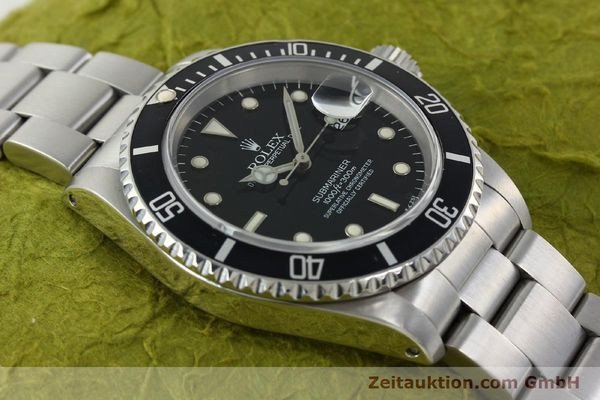 Used luxury watch Rolex Submariner steel automatic Kal. 3135 Ref. 16610  | 141917 15