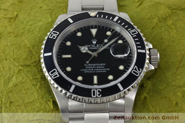 Used luxury watch Rolex Submariner steel automatic Kal. 3135 Ref. 16610  | 141917 16