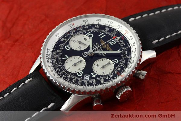 Used luxury watch Breitling Navitimer steel automatic Kal. B23 Ref. A23322  | 141919 01