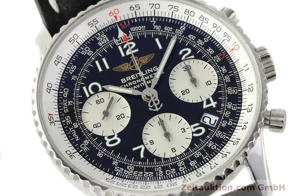 Used luxury watch Breitling Navitimer steel automatic Kal. B23 Ref. A23322  | 141919 02