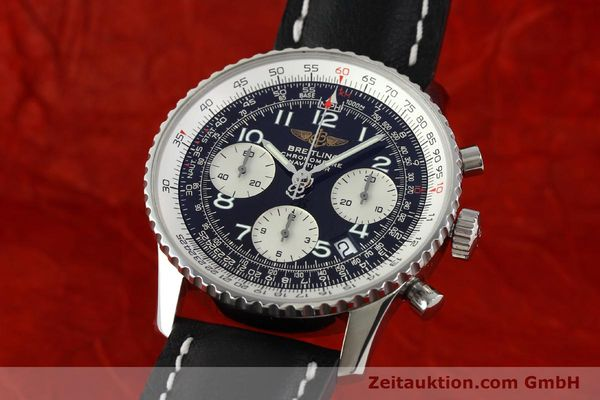 Used luxury watch Breitling Navitimer steel automatic Kal. B23 Ref. A23322  | 141919 04