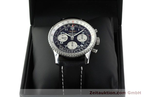 Used luxury watch Breitling Navitimer steel automatic Kal. B23 Ref. A23322  | 141919 07
