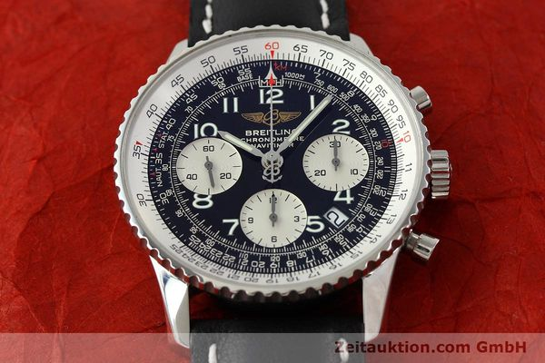 Used luxury watch Breitling Navitimer steel automatic Kal. B23 Ref. A23322  | 141919 14