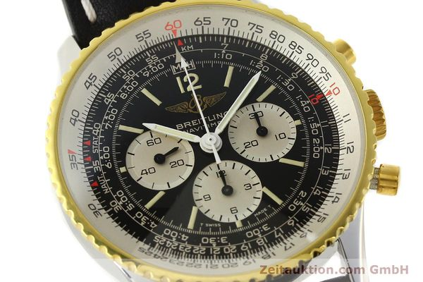 Used luxury watch Breitling Navitimer chronograph gilt steel manual winding Kal. Lemania 1873 Ref. 81800  | 141921 02
