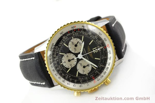 Used luxury watch Breitling Navitimer chronograph gilt steel manual winding Kal. Lemania 1873 Ref. 81800  | 141921 03