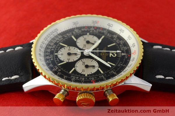 Used luxury watch Breitling Navitimer chronograph gilt steel manual winding Kal. Lemania 1873 Ref. 81800  | 141921 05