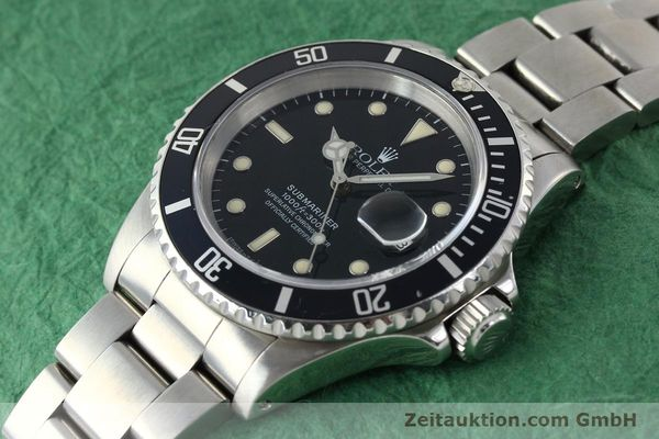 Used luxury watch Rolex Submariner steel automatic Kal. 3135 Ref. 16610  | 141923 01
