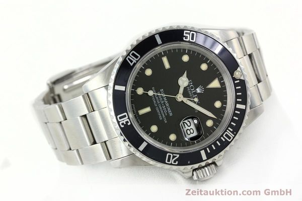 Used luxury watch Rolex Submariner steel automatic Kal. 3135 Ref. 16610  | 141923 03