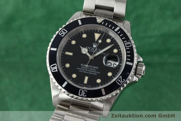 Used luxury watch Rolex Submariner steel automatic Kal. 3135 Ref. 16610  | 141923 04