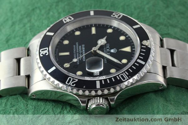 Used luxury watch Rolex Submariner steel automatic Kal. 3135 Ref. 16610  | 141923 05