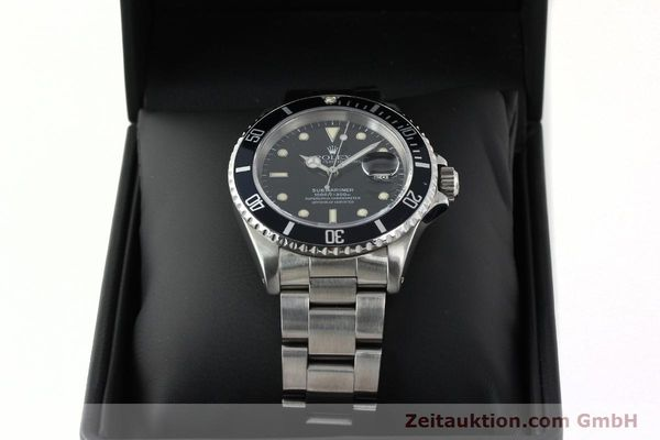 Used luxury watch Rolex Submariner steel automatic Kal. 3135 Ref. 16610  | 141923 07