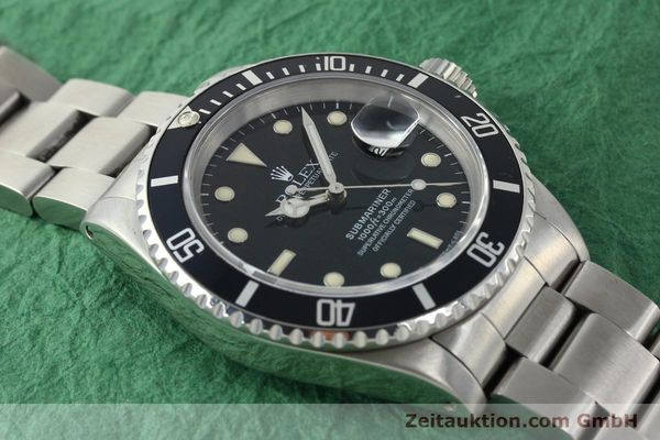 Used luxury watch Rolex Submariner steel automatic Kal. 3135 Ref. 16610  | 141923 15