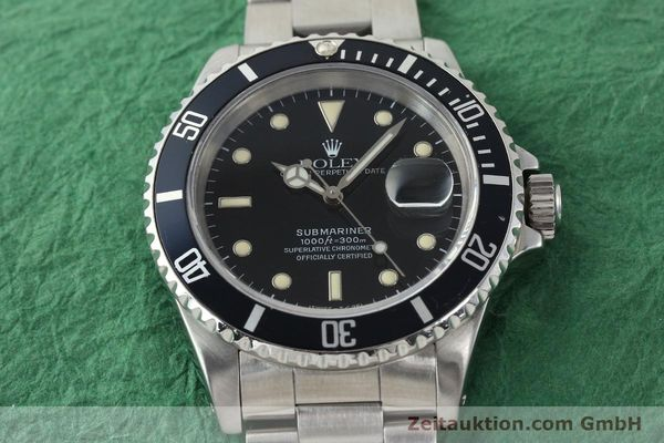 Used luxury watch Rolex Submariner steel automatic Kal. 3135 Ref. 16610  | 141923 16
