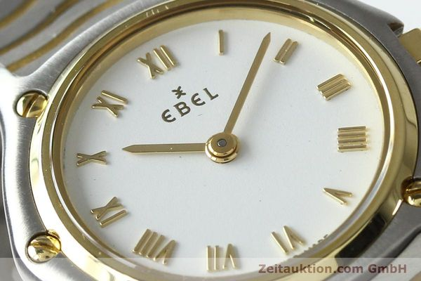 Used luxury watch Ebel Classic Wave steel / gold quartz Kal. 157 Ref. E1157111  | 141926 02