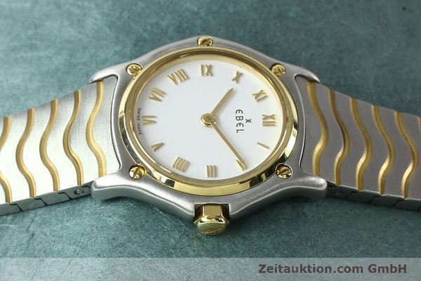 Used luxury watch Ebel Classic Wave steel / gold quartz Kal. 157 Ref. E1157111  | 141926 05
