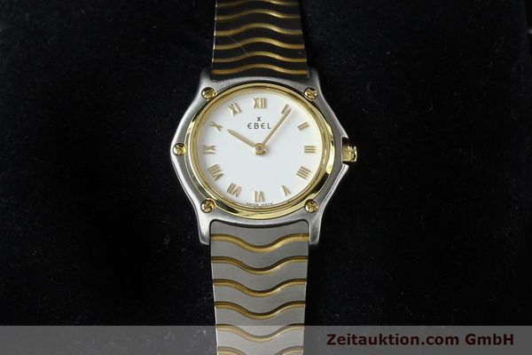 Used luxury watch Ebel Classic Wave steel / gold quartz Kal. 157 Ref. E1157111  | 141926 07