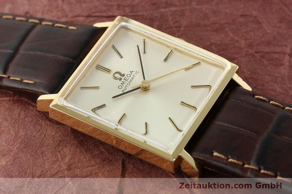 Used luxury watch Omega * gold-plated automatic Kal. 671 Ref. 161.014  | 141932 13