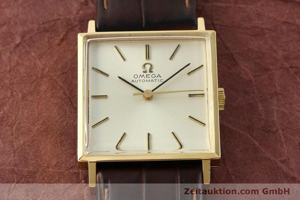 Used luxury watch Omega * gold-plated automatic Kal. 671 Ref. 161.014  | 141932 14