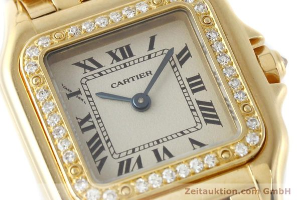 montre de luxe d occasion Cartier Panthere or 18 ct quartz Kal. 157  | 141936 02